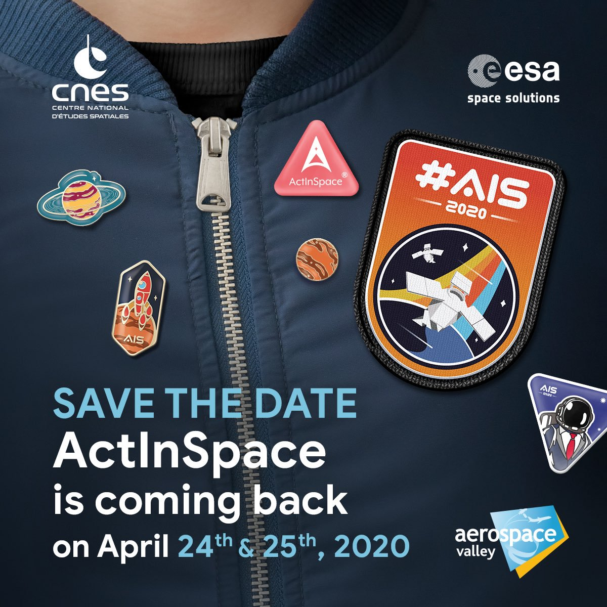 picture for ActInSpace® 2020 kicks off at Paris Air Show