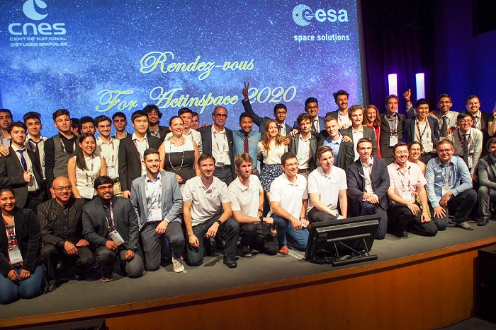 picture for Press release: Winners of the #ActInSpace® 2018 edition