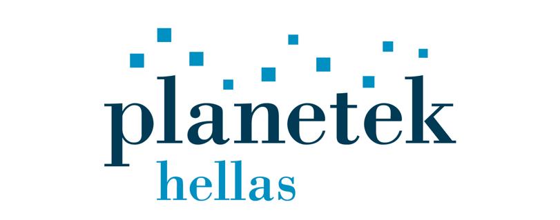 Logo of Planetek Hellas