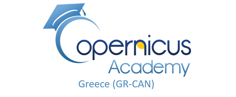 Logo of Copernicus Academy Network in Greece (GR-CAN)