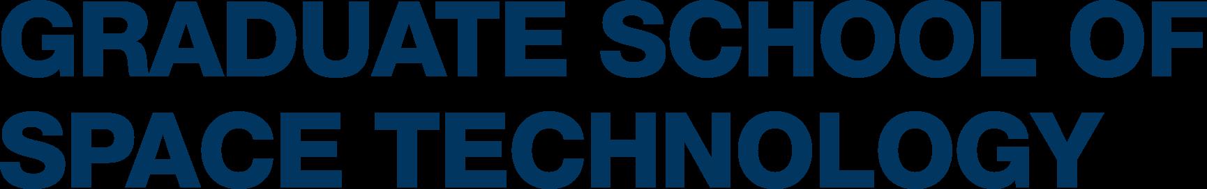 Logo of Graduate School of Space Technology