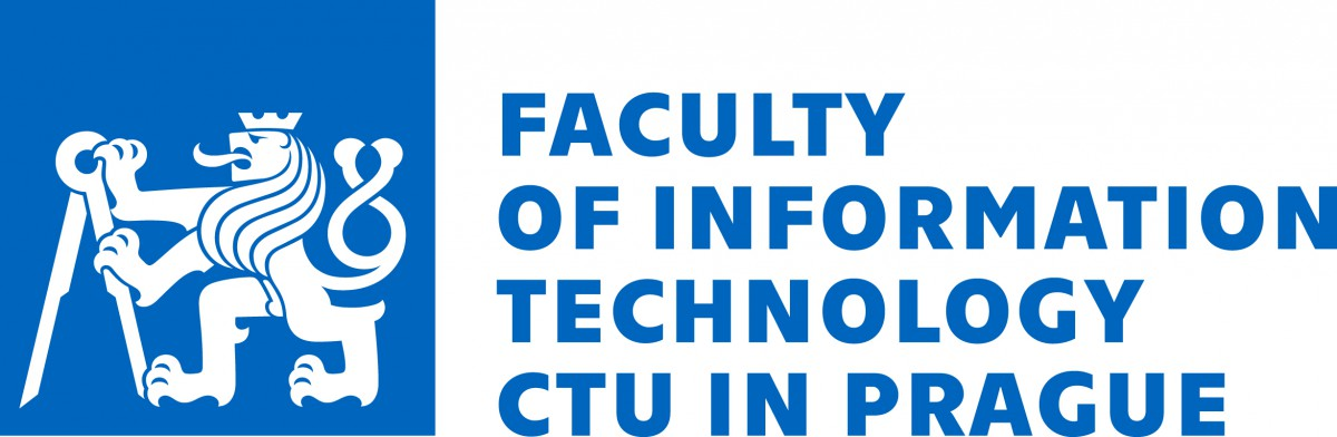Logo of Czech Technical University in Prague, Faculty of Information Technology