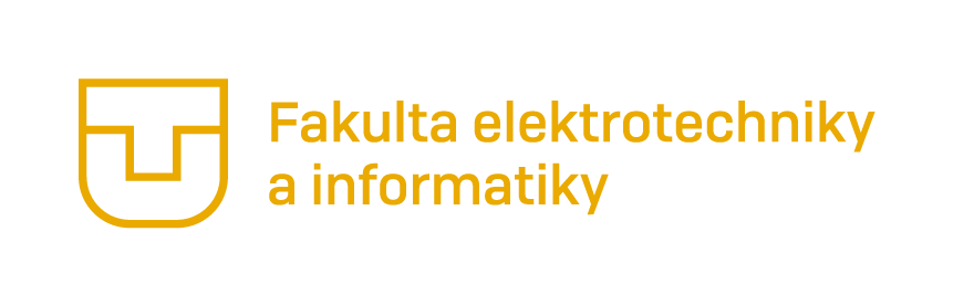 Logo of Faculty of Electrical Engineering and Computer Science of Technical University in Košice, Slovakia